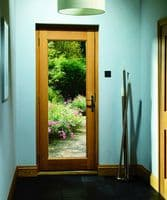 Victorian oak door | 4 panel external door | external door